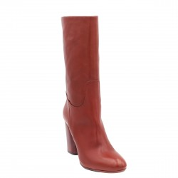 Stivale donna in pelle -...